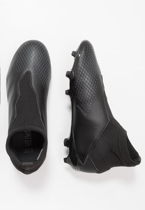 PREDATOR 20.3 LL FG - Moulded stud football boots - core black/dough solid grey