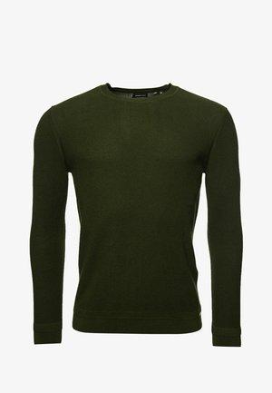 Jersey de punto - dry olive green