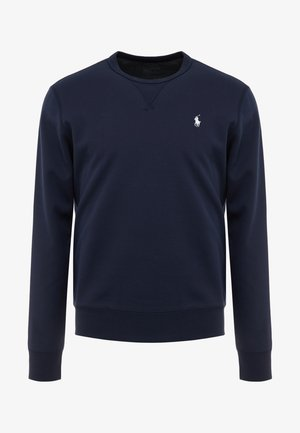 DOUBLE TECH - Long sleeved top - aviator navy