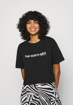 LETTER TEE - T-Shirt print - black /white