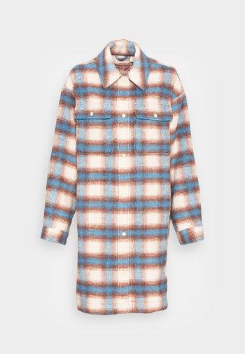 SELMA - Classic coat - libby plaid bonnie blue