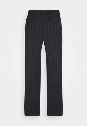 THEODORE STRIPED TROUSER - Trousers - navy