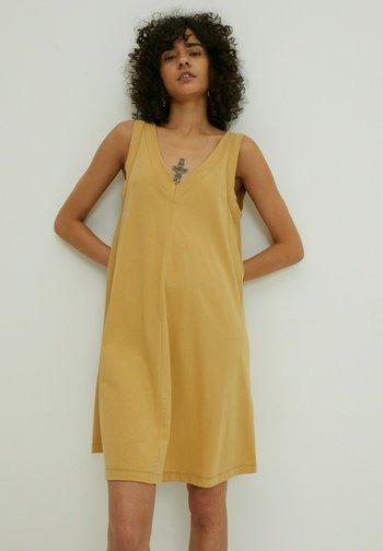 KENIA - Day dress - curry