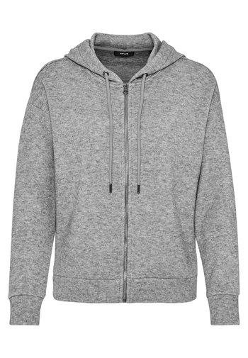Zip-up sweatshirt - easy grey