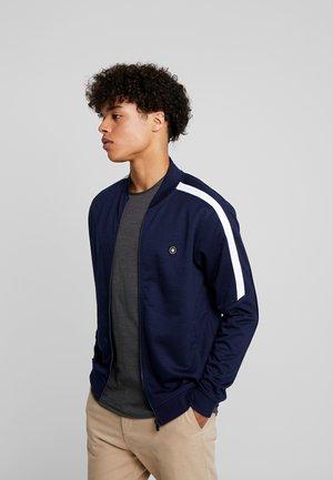 JCOALBERT TRACK - Zip-up hoodie - maritime blue