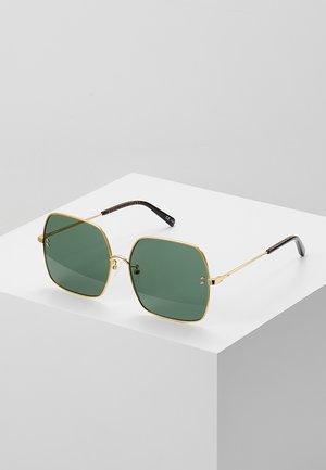 Occhiali da sole - gold-colured/green