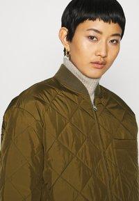 ARKET - JACKET - Krátký kabát - brown medium dusty - 4