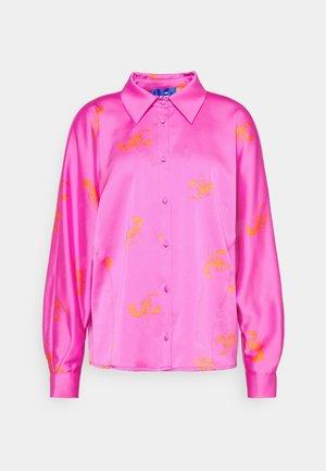BIJOU - Button-down blouse - pink