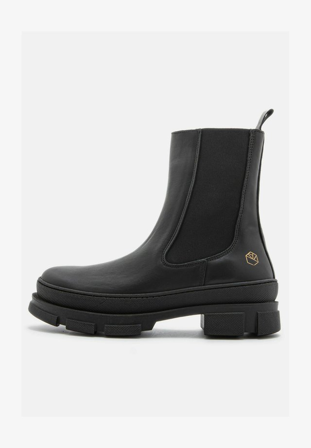 LAURA  - Boots - black - icon gold