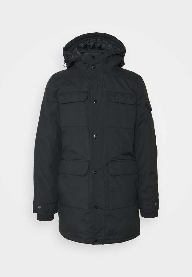 LARGA - Winter coat - black