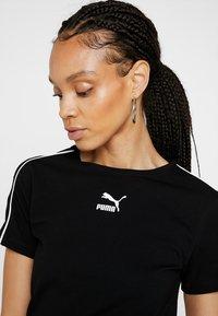 Puma - CLASSICS  - T-Shirt print - black - 4