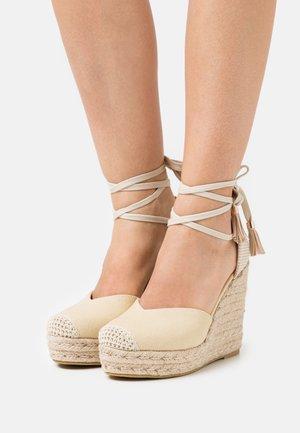 DORIAN - Sandalias de tacón - nude