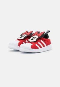 adidas Originals - SUPERSTAR 360 UNISEX - Sneaker low - vivid red/footwear white/core black - 1