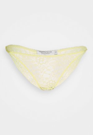 AMY BRIEFS - Briefs - yellow