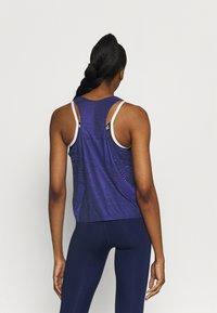 Nike Performance - TANK - Treningsskjorter - black/lapis/metallic silver - 2