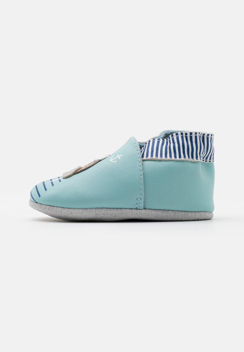 Robeez - MORSE - First shoes - bleu clair