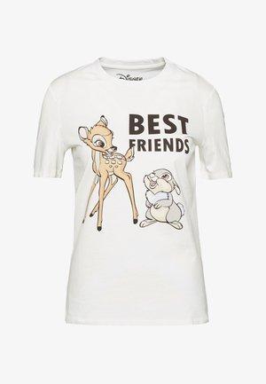 PCDISLA  - Print T-shirt - cloud dancer