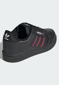 adidas Originals - CONTINENTAL 80 STRIPES SCHUH - Trainers - black - 2