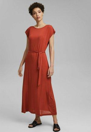 Maxi dress - terracotta