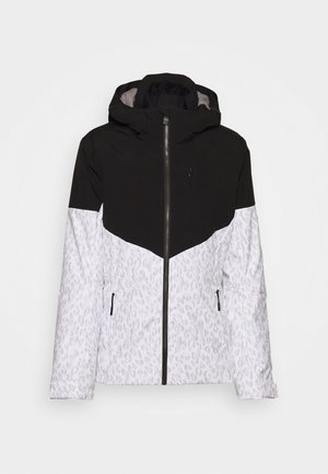 TANSY LADY - Snowboard jacket - white/black