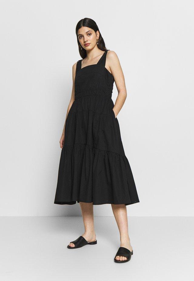 YASTHEA STRAP DRESS - Vestito estivo - black