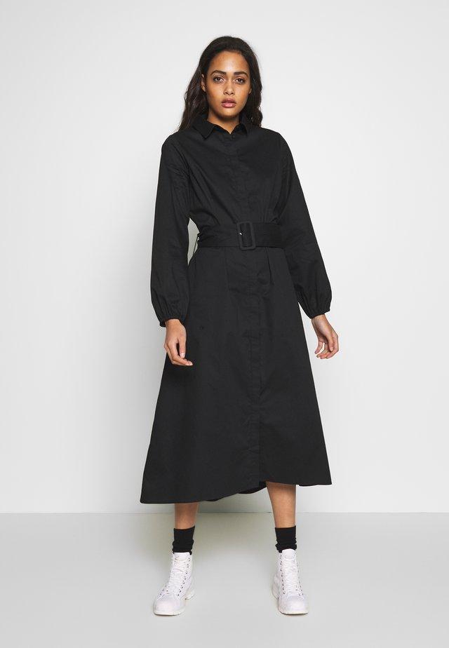 ENDENA  DRESS - Robe chemise - black