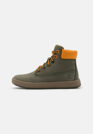 DAVIS SQUARE UNISEX - Sneakers hoog - dark green