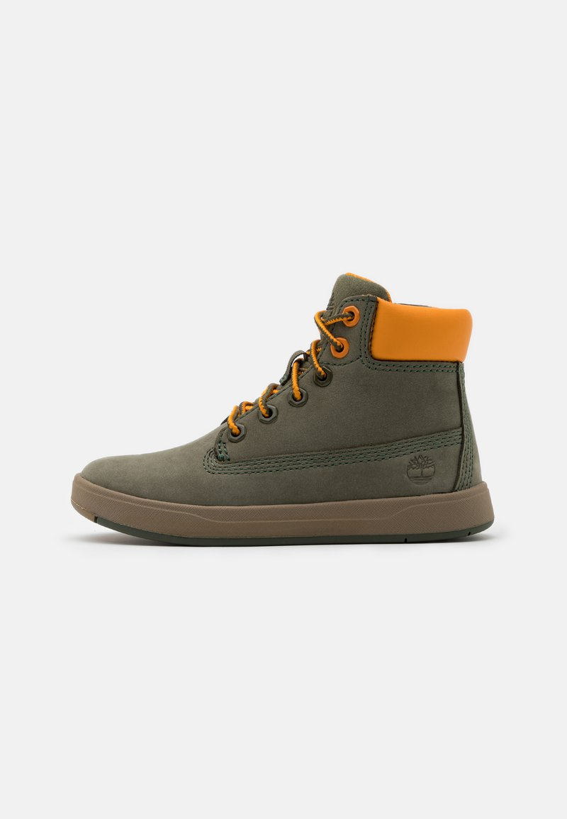 Timberland - DAVIS SQUARE UNISEX - High-top trainers - dark green