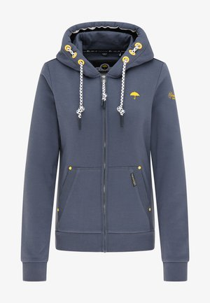 Zip-up sweatshirt - rauch marine