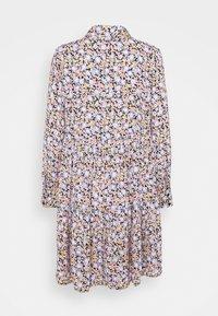 Pieces Petite - PCINIS DRESS - Shirt dress - black/blue - 6