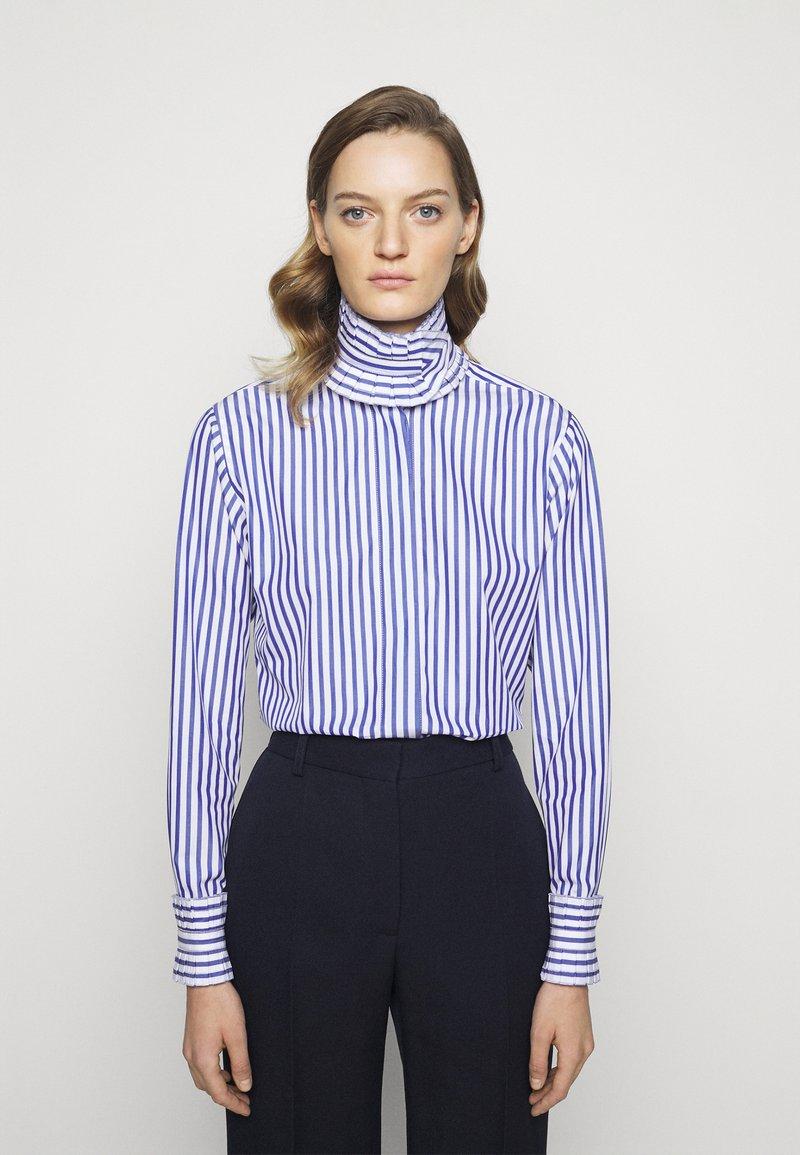 Victoria Beckham - Blouse - blue/white
