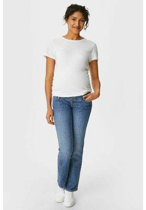 Straight leg jeans - denim-blue