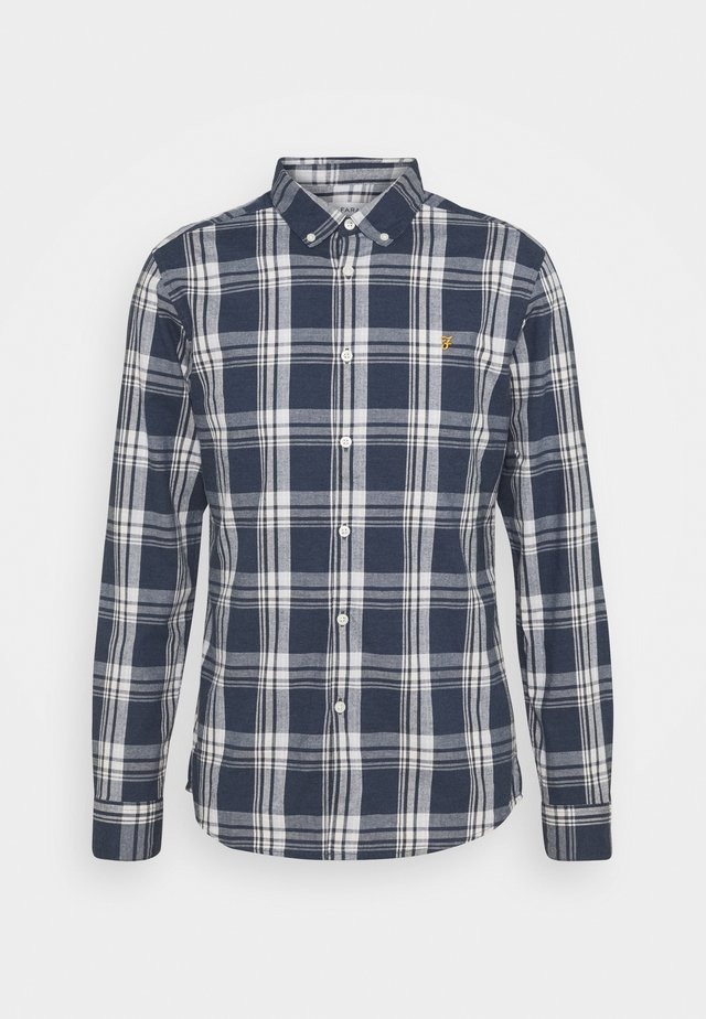 STEEN CHECK - Overhemd - blue nickle