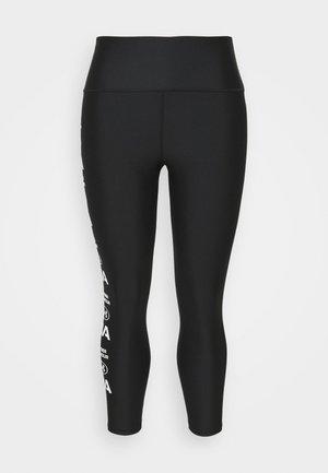 GRAPHIC ANKLE LEG - Leggings - black