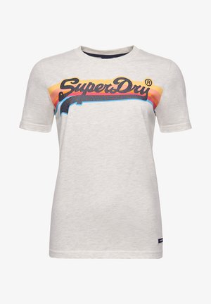 CALI - Print T-shirt - mcqueen marl