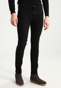 Pier One - Jeans Skinny Fit - black denim - 0