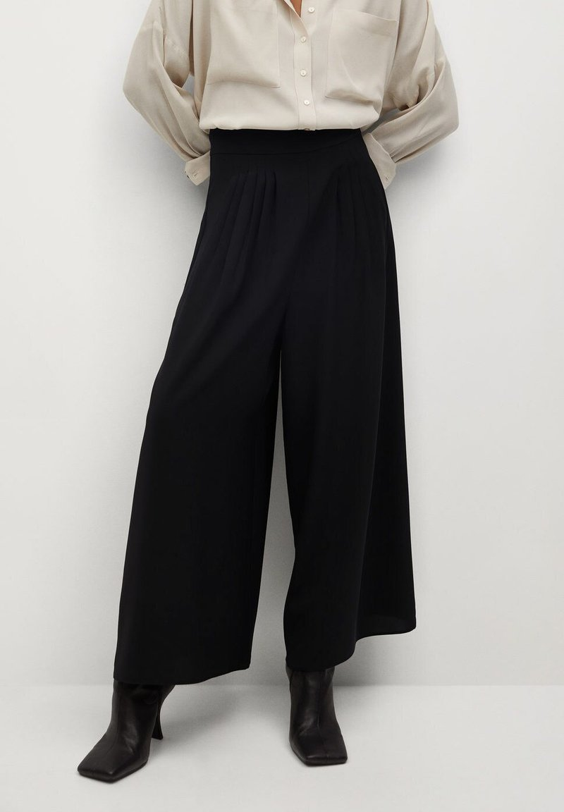 Mango - AREVA - Pantaloni - schwarz