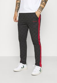 Nominal - CHECK TROUSER - Trousers - black - 0