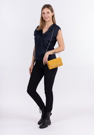 AMALIA - Clutch - yellow 460