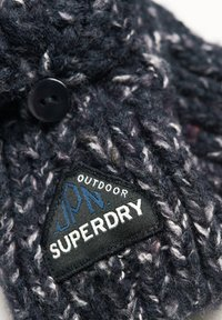 Superdry - GRACIE - Fingerless gloves - boston navy tweed - 1