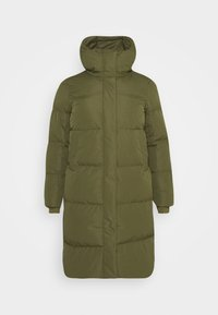 CAPSULE by Simply Be - LONG PADDED DUVET COAT - Classic coat - khaki - 4