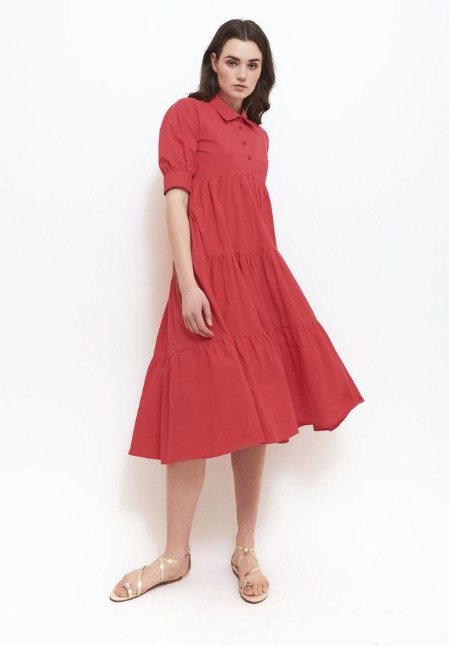 Blousejurk - red