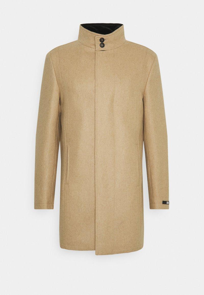 KARL LAGERFELD - COAT FLIGHT  - Classic coat - camel