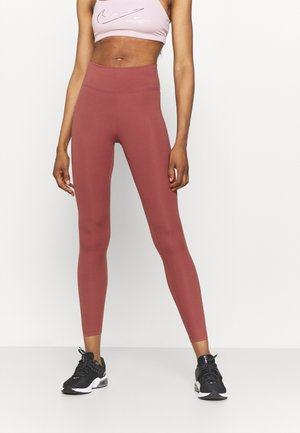 ONE - Leggings - canyon rust/white