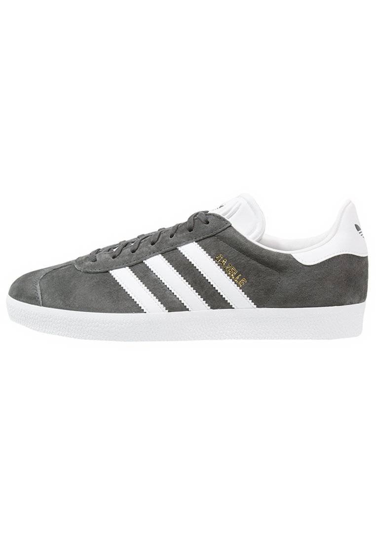adidas Originals - GAZELLE - Sneakers - dgsogr/white/goldmt