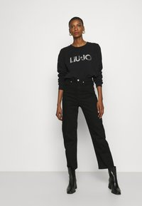 Liu Jo Jeans - FELPA CHIUSA - Sweatshirt - nero - 1