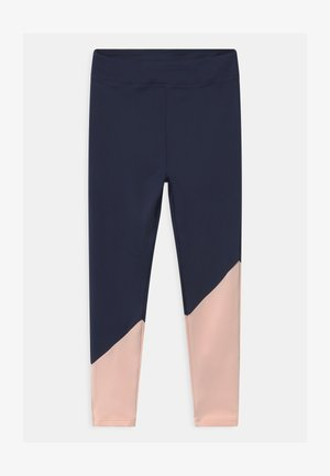 GIRLS BLOCKED - Legginsy - navy