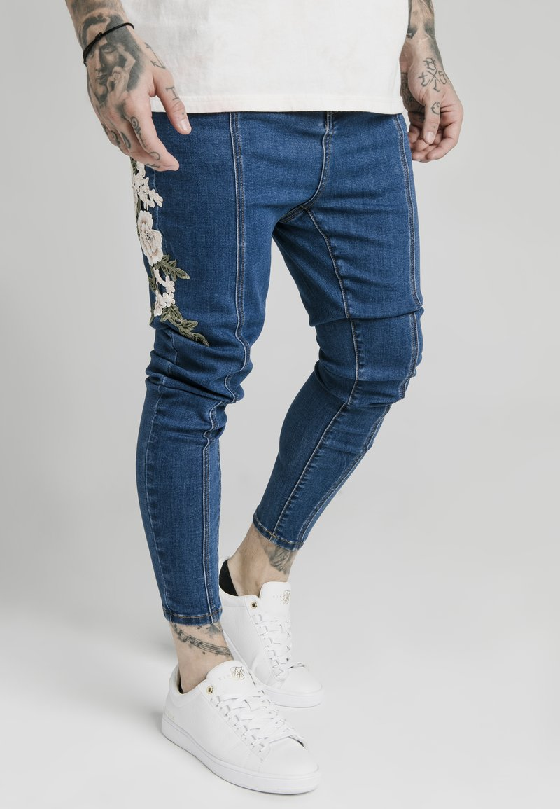 SIKSILK - Slim fit jeans - blue