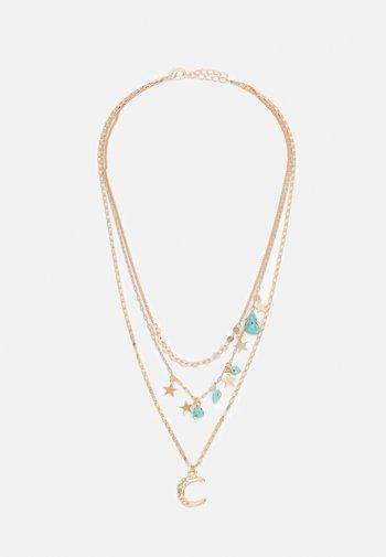 FGCLARA COMBI NECKLACE - Necklace - gold-coloured