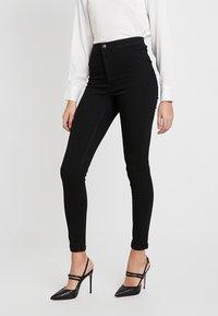 Vero Moda - VMJOY MIX - Jeans Skinny Fit - black - 0